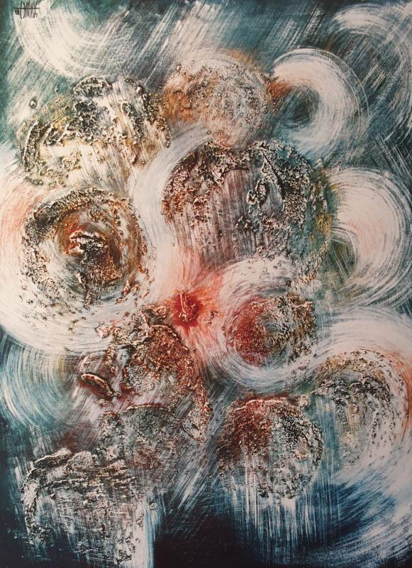 Peinture de JY Masset, membre fondateur du CLALS